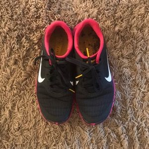 Nike Livestrong rubbing shoes